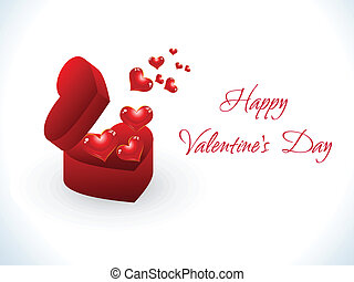 abstract happy valentine day background vector illustration