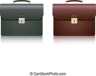 Briefcase. Vector illustration.