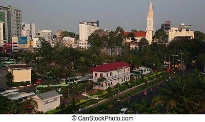 Saigon. Vietnam. - Saigon Centre with height.