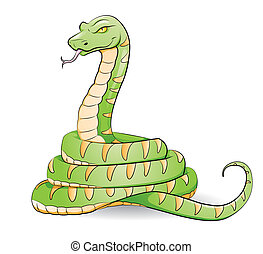 snake - Cartoon snake