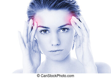Woman and migraine