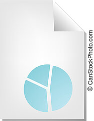 Piechart document - Pie chart document file type...