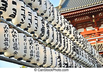 Lamp at Asakusa, Japan