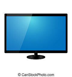 Flat Screen TV Illustration - Flat screen tv illustration