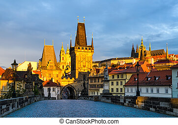 Charles Bridge in Prague - Charles Bridge and the Prague...