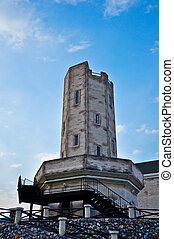 Old tower with blue sky