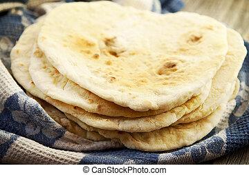 Tortillas, casero