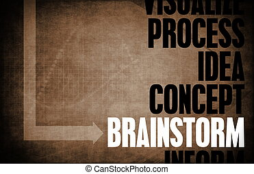 Brainstorm Core Principles as a Concept Abstract