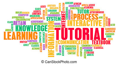 Tutorial Concept as a Method of Learning Online