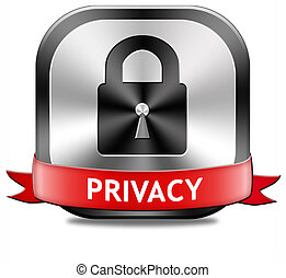 privacy button - privacy private area protection of personal...