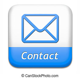 contact button - contact address button for feedback icon,...
