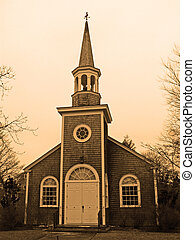 meet - old cape cod church