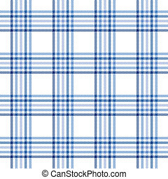 blue stripe plaid - An illustration of a blue stripe plaid