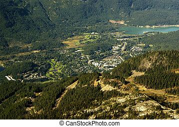 Whistler and Green lake