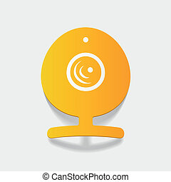 realistic design element: webcam, camera