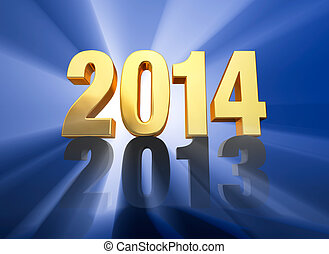 2014 Replaces 2013 - A brilliantly backlit, shiny bold, red...