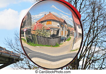 World in the mirror - Reality seen in the mirror of a...