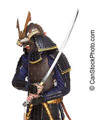 samurai, armadura