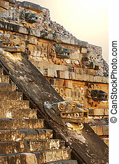 pirámide, detalle