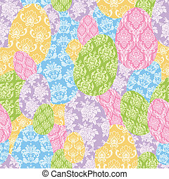 Seamless Easter Background - Cute seamless background with...