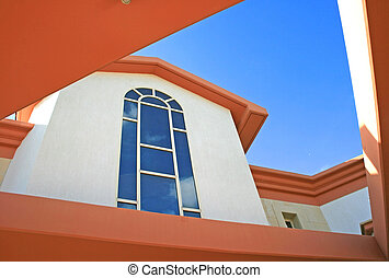 Windows of villa - Beautiful huge windows of villa
