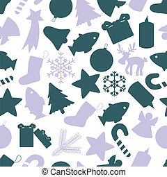 christmas icon color pattern eps10