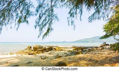 Tropical ocean coast. Thailand