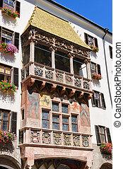 Innsbruck, Austria - Goldenes Dachl in Innsbruck Innsbruck...
