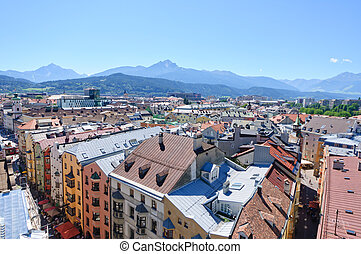 Innsbruck, Austria - Cityscape of Innsbruck Innsbruck is the...