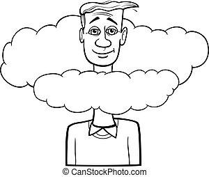 Absent minded Stock Illustration Images. 29 Absent minded ...