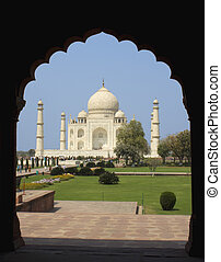 Taj Mahal at Agra, India