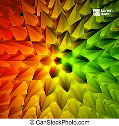 3D illustration - 3D abstract illustration 3D background