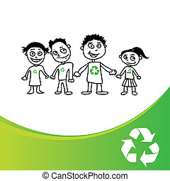 recycles kids