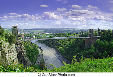 Suspension bridge - a image capturing the whole of the world...