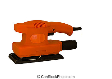 Orbital sander - an isolated elecrtical orbital sanding...