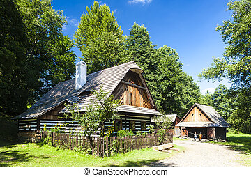 folk museum in Vesely Kopec, Czech Republic