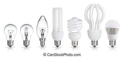 set of light bulbs