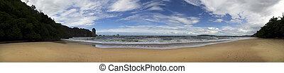 Aonang Beach - Aonang Beach of Krabi Province Thailand,...