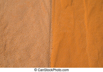 Sandy background two colors