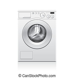 Washing machine vector illustration