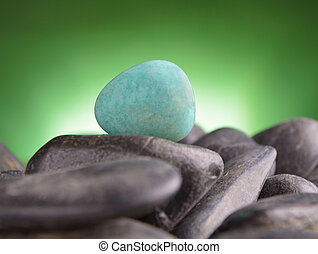 Amazonite also called Amazon stone