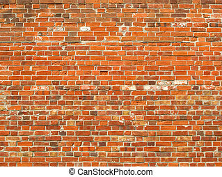 Colorful old brick wall background.