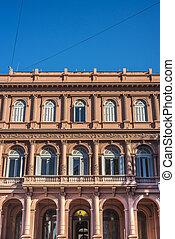 Casa Rosada building in Buenos Aires, Argentina. - Casa...