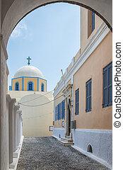 Fira catholic cathedral 06