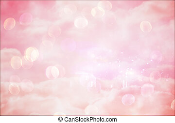 Pink girly design - Pink feminine design background