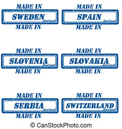 Made in stamps