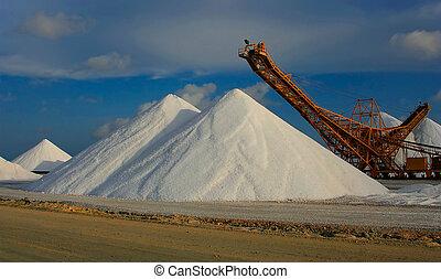 salt production plant bonaire csribean