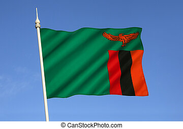 Flag of Zambia - The national flag of Zambia was adopted on...