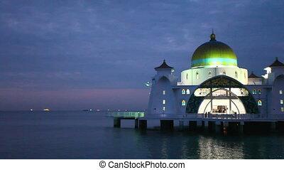 Malacca Straits Mosque Malaysia - Malacca Straits Mosque...