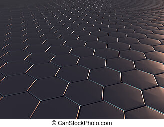 Dragon scale pattern in 3d